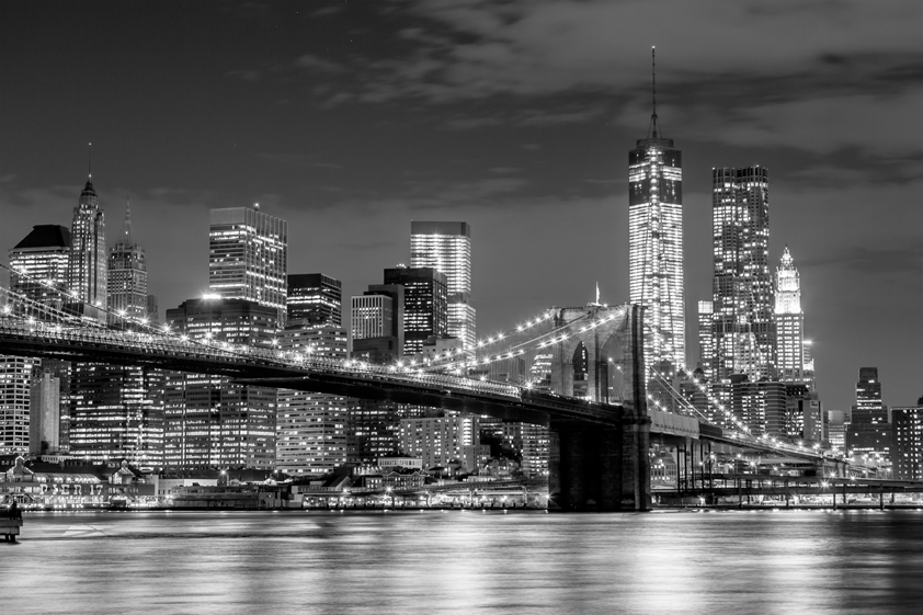 Brooklyn Bridge Skylne_ 1062257